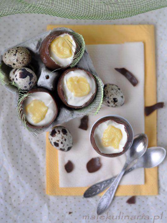 chocolate eggs, czekoladowe jajka