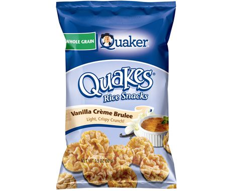 Quaker Quakes Vanilla Creme Brulee 3 Points Weight