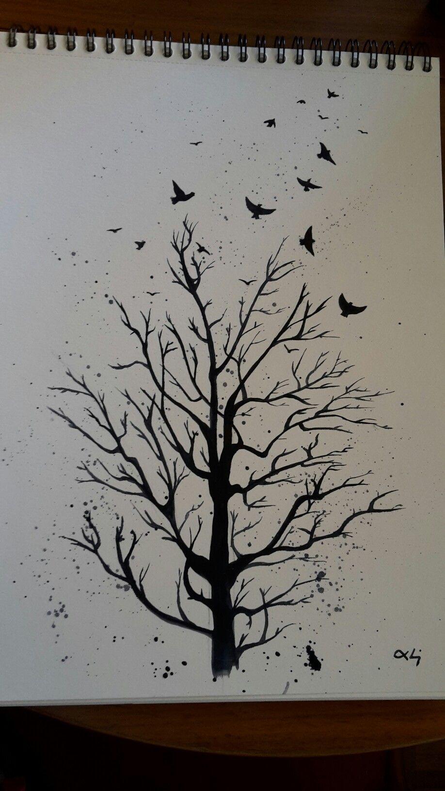 Acuarela Dibujos Abstractos Dibujar Arte Dibujos
