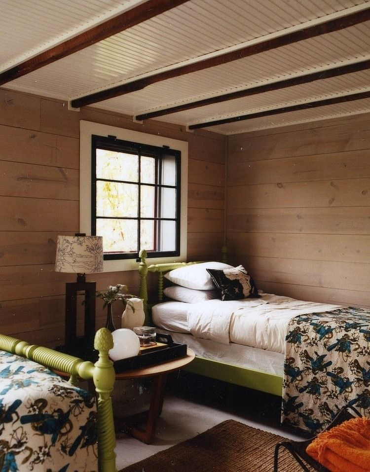 Lake House by Thom Filicia - 1917 rustic country home in the Finger