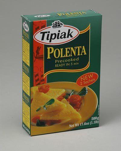 Tipiak Polenta, 17.6-Ounce Packages (Pack of 12) by Tipiak, http://www.amazon.com/dp/B0019VMCSC/ref=cm_sw_r_pi_dp_BJF7rb04XS0BQ