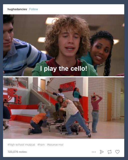 29 Times Tumblr Had Jokes About High School Musical High School Musical Tumblr Funny Musicals