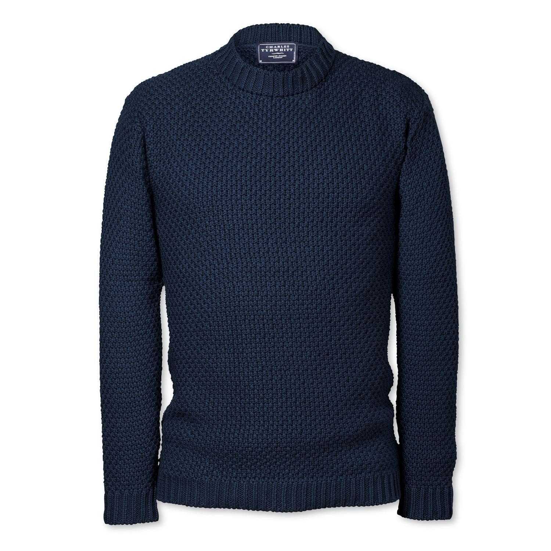 5970bcfc57a9 £54.95 Charles Tyrwhitt, Moss Stitch, Cashmere Cardigan, Cotton Linen,  Jumper,