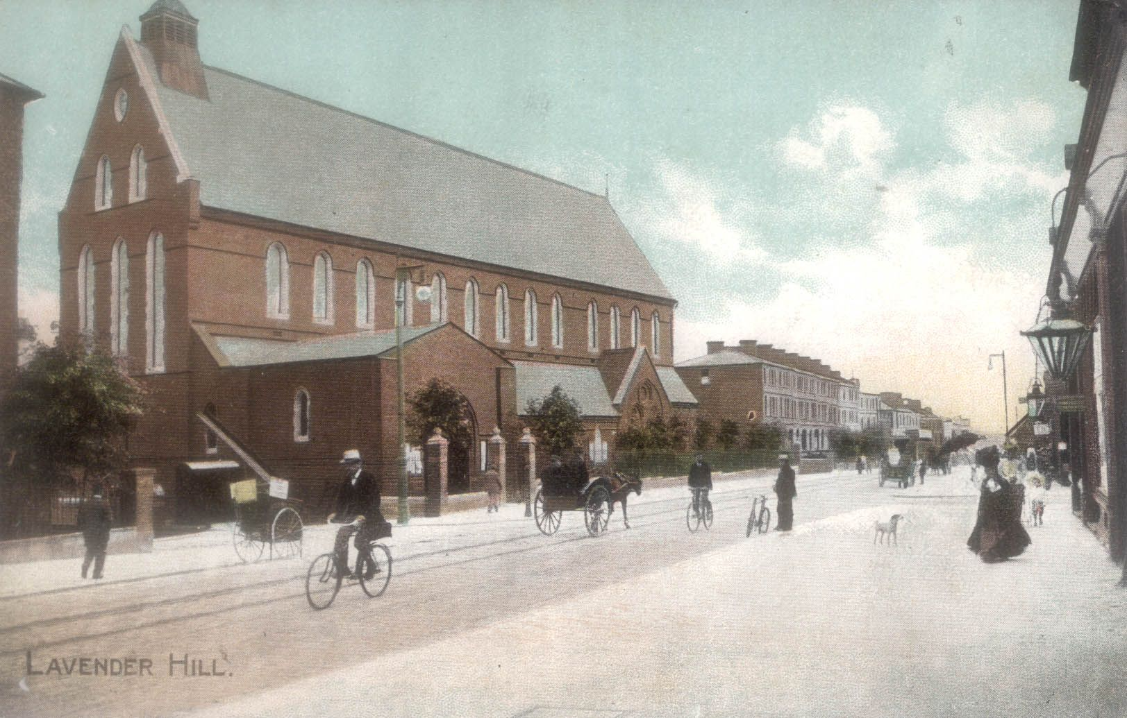 Ascension Church Lavender Hill Battersea c 1890 from their own website