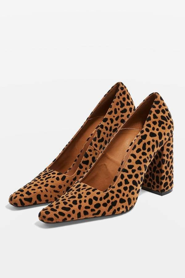 6b22b701de5e GEENA Block Heel Court Shoes in 2019   Products   Court shoes, Heels ...