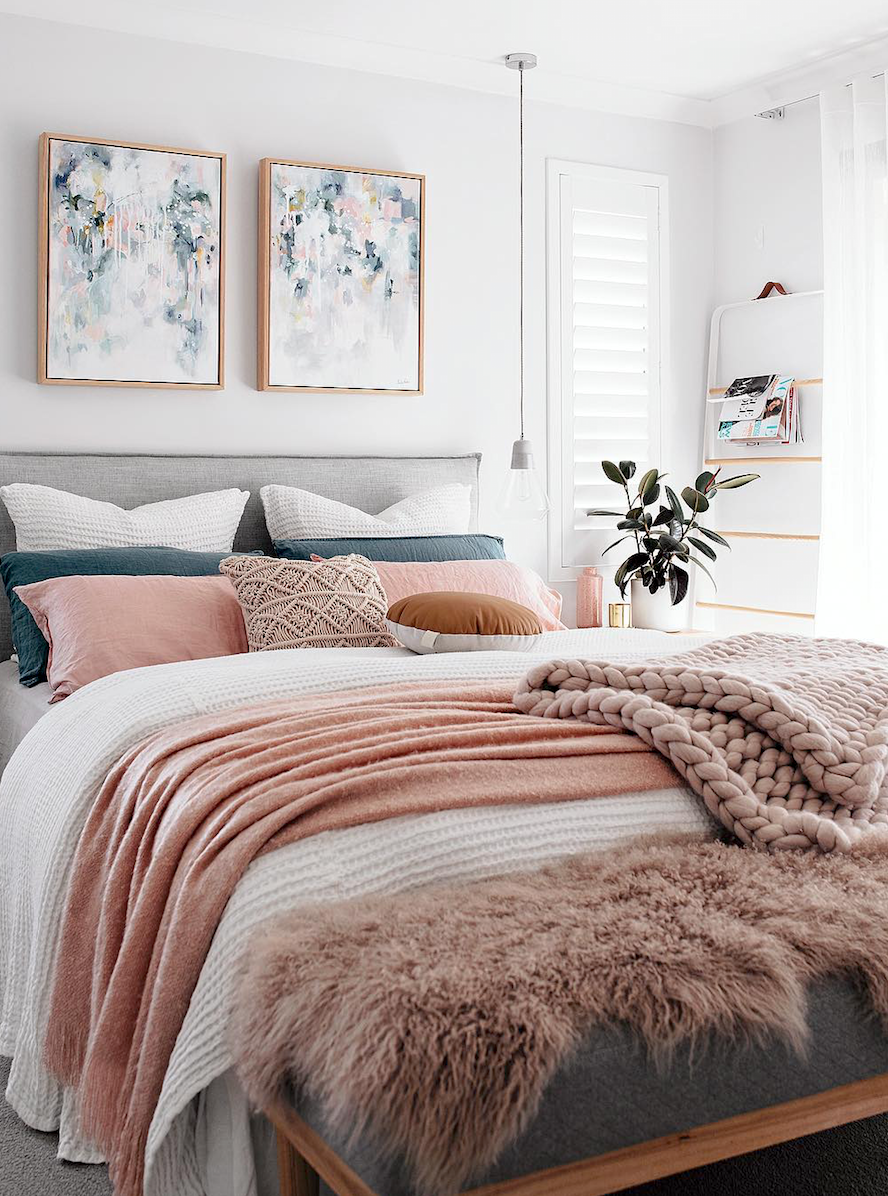 How Redecorating Your Room Can Help Fix A Broken Heart Post Breakup Home And Bedroom Dec Beautiful Bedroom Decor Luxury Bedroom Master Master Bedrooms Decor