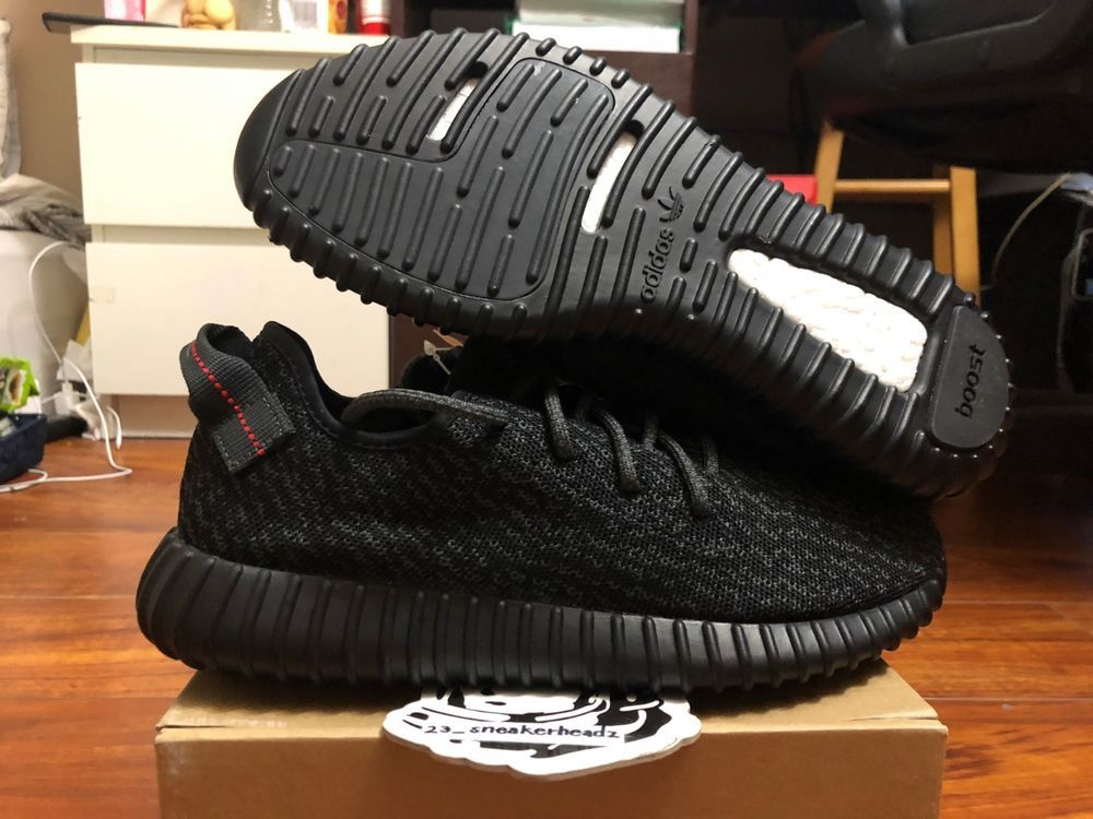 57a9202b2 goVerify Genuine Seller  23 Sneakerheadz  One of our favorite sellers on  eBay. For Sale  Adidas Yeezy boost 350 Pirate Blac…