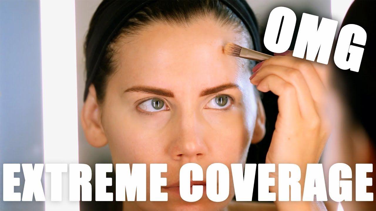 EXTREME COVERAGE Foundation ... OMG!!! | Coverage foundation