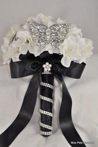 Crystal Butterfly Bouquet #wedding #bouquet