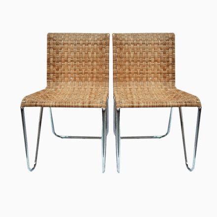 Diagonal Stühle von Gispen, 1930, 2er Set Jetzt bestellen unter - esszimmer 1930