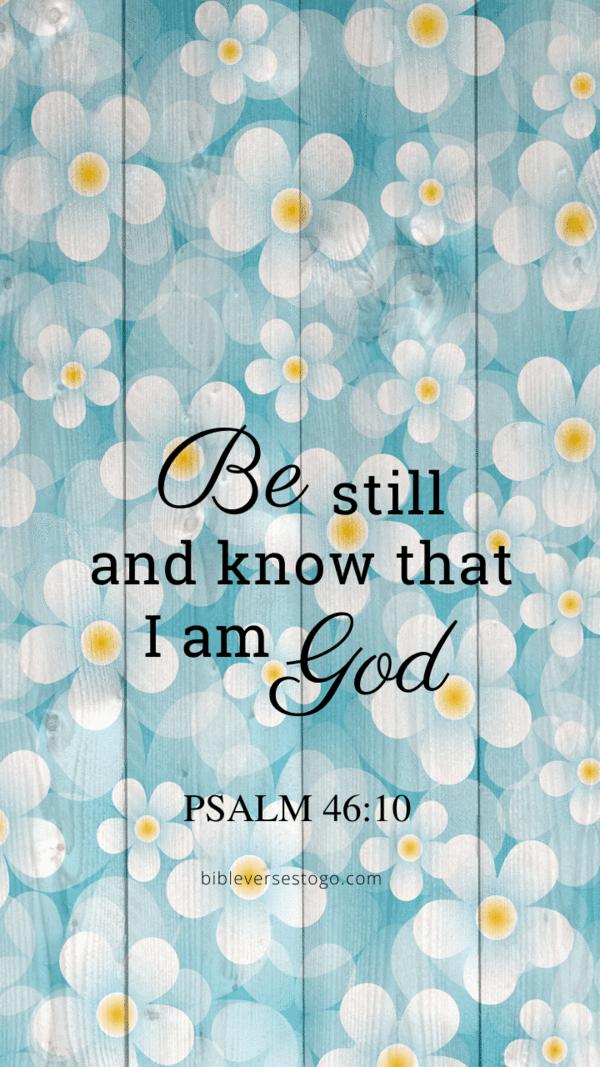 Daisy Wood Psalm 46:10