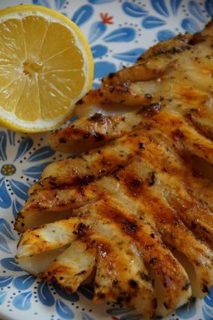Gegrillte Tintenfischtuben #shrimpscampi