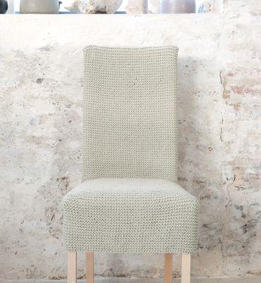 Mod le de housse d co chaise mod les tricot accessoires - Modele housse de chaise ...