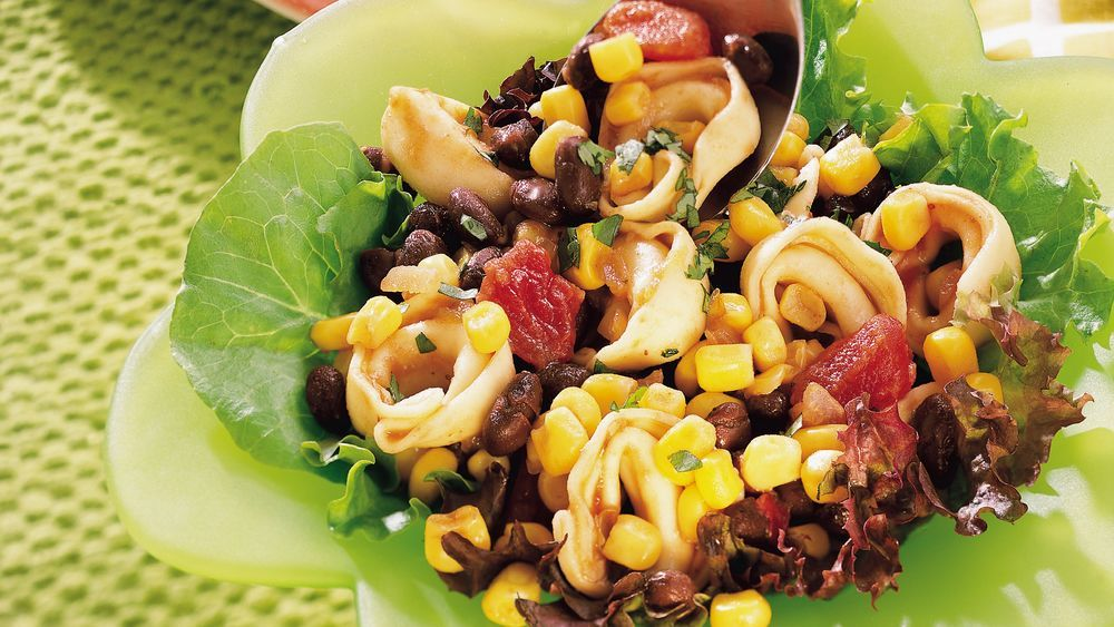 Looking for a tasty Mexican dinner using Corn and Old El Paso® Salsa? Then check out this great pasta salad that features beans - ready in just 20 minutes.