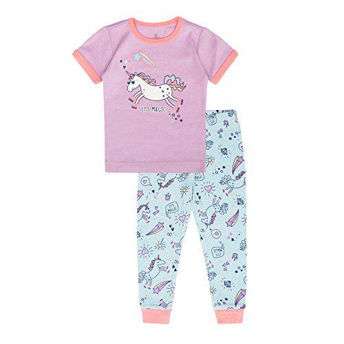 Ladies Dream 2 Pieces Cotton Round Neck T Shirt Trousers Pyjamas Size 6-16