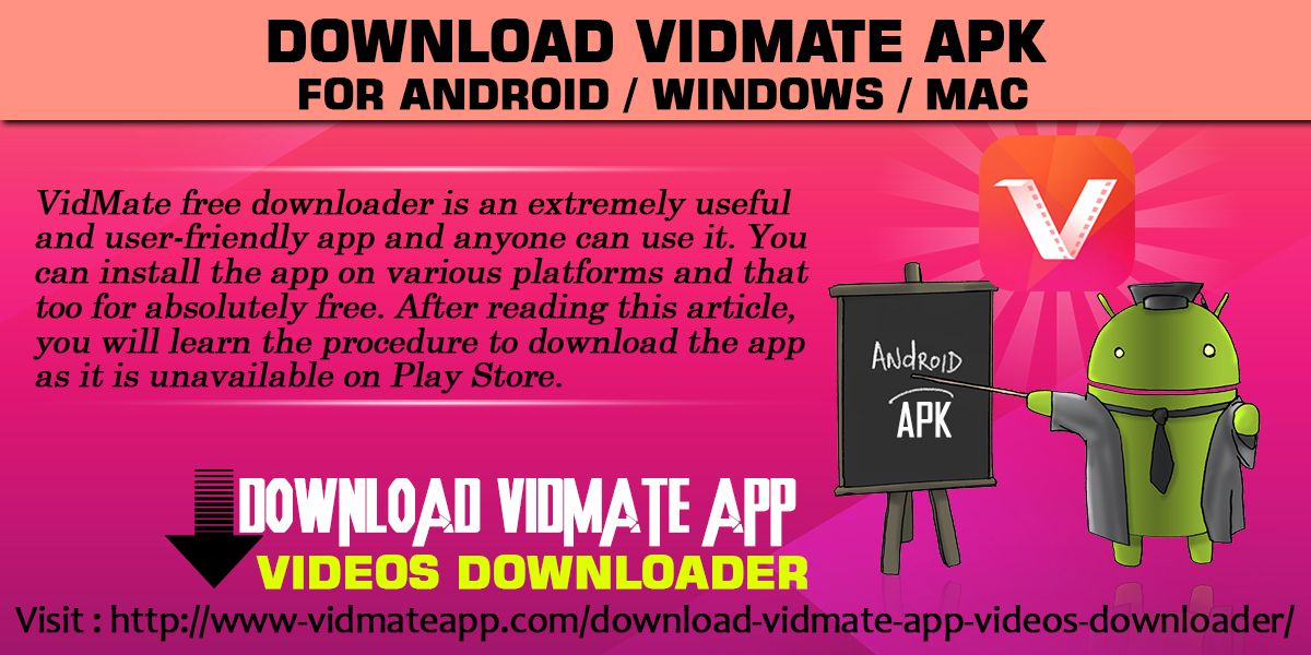 VidMate free downloader is an extremely useful and user