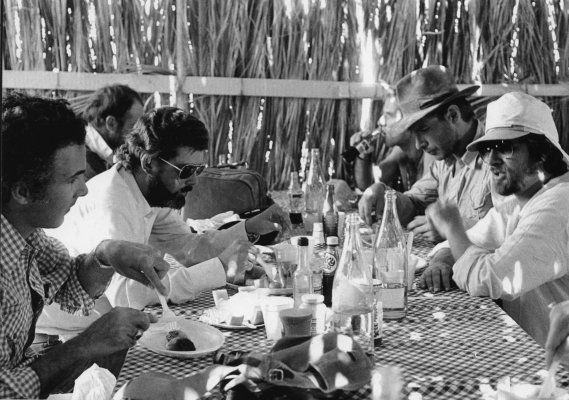 Lunch on the Raiders of the Lost Ark set