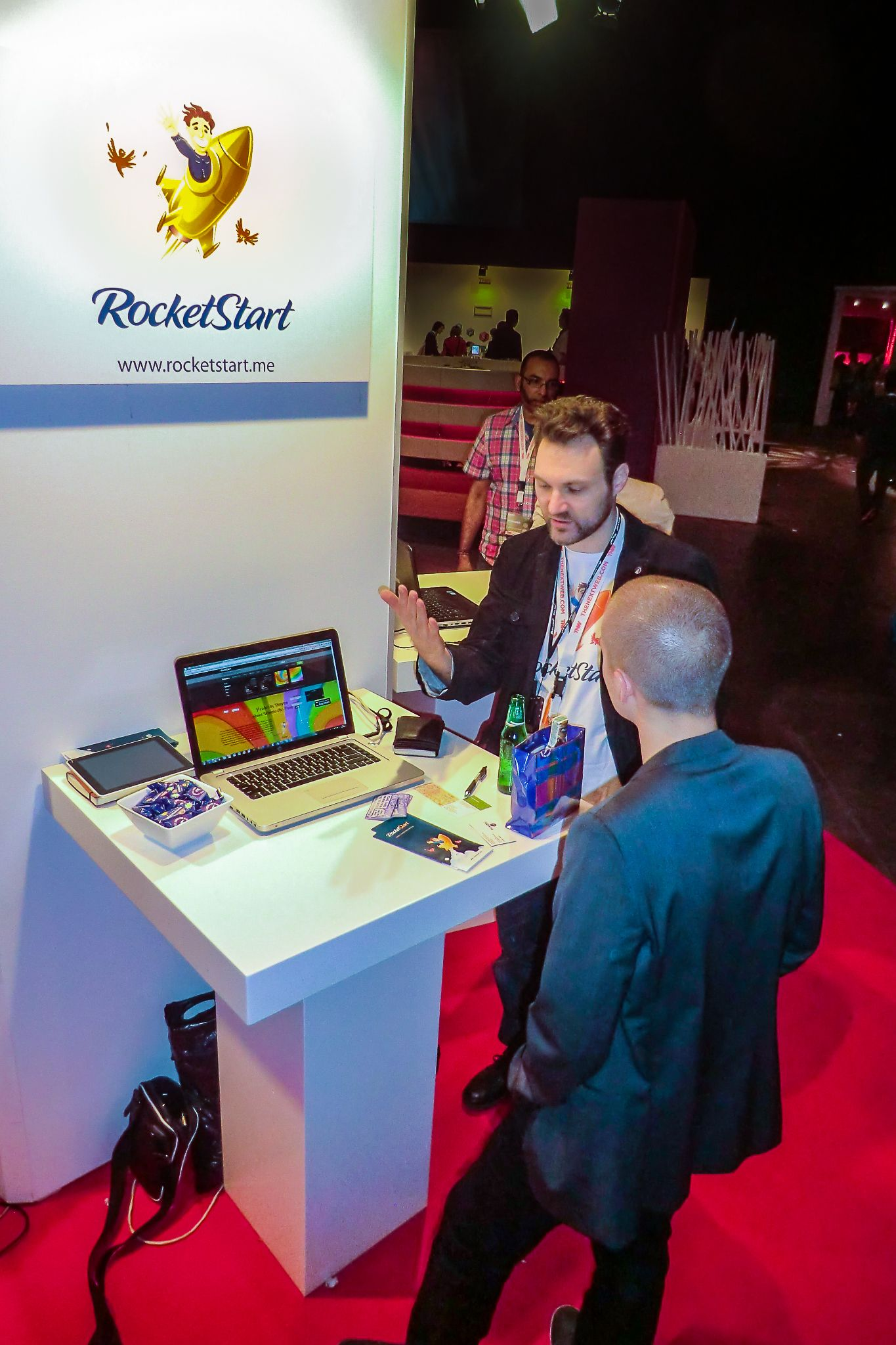 RocketStart presented its prototype during The Next Web 2012 in Amsterdam (2012.04.25)