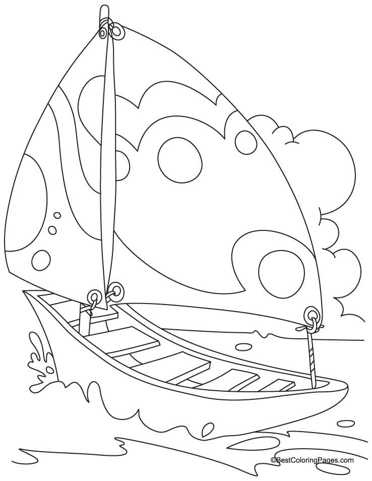 Yacht In Sea Coloring Page Download Free Yacht In Sea Coloring Page For Kids Coloring Pages Truck Coloring Pages Coloring Pages For Kids
