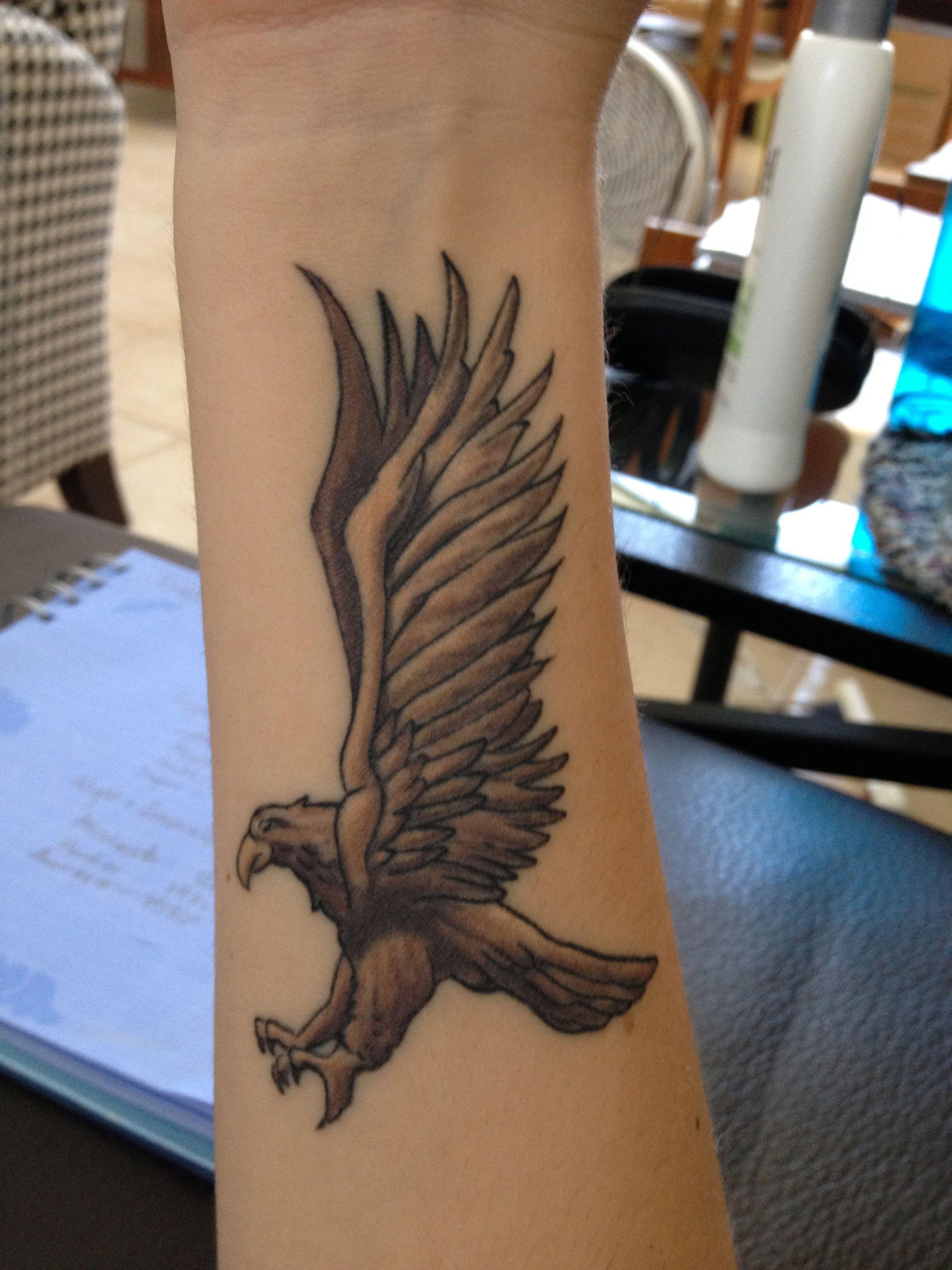 My Ravenclaw Tattoo