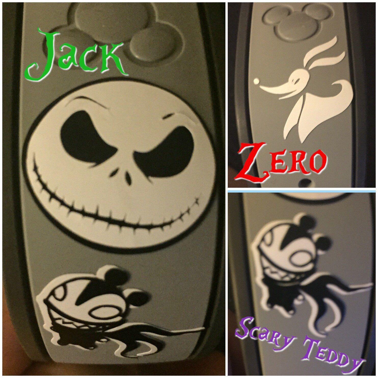 Jack Skellington Magic Band Decal MagicBand Jack Skellington Sticker Jack Skellington MagicBand Decal Magic Band Jack Skellington