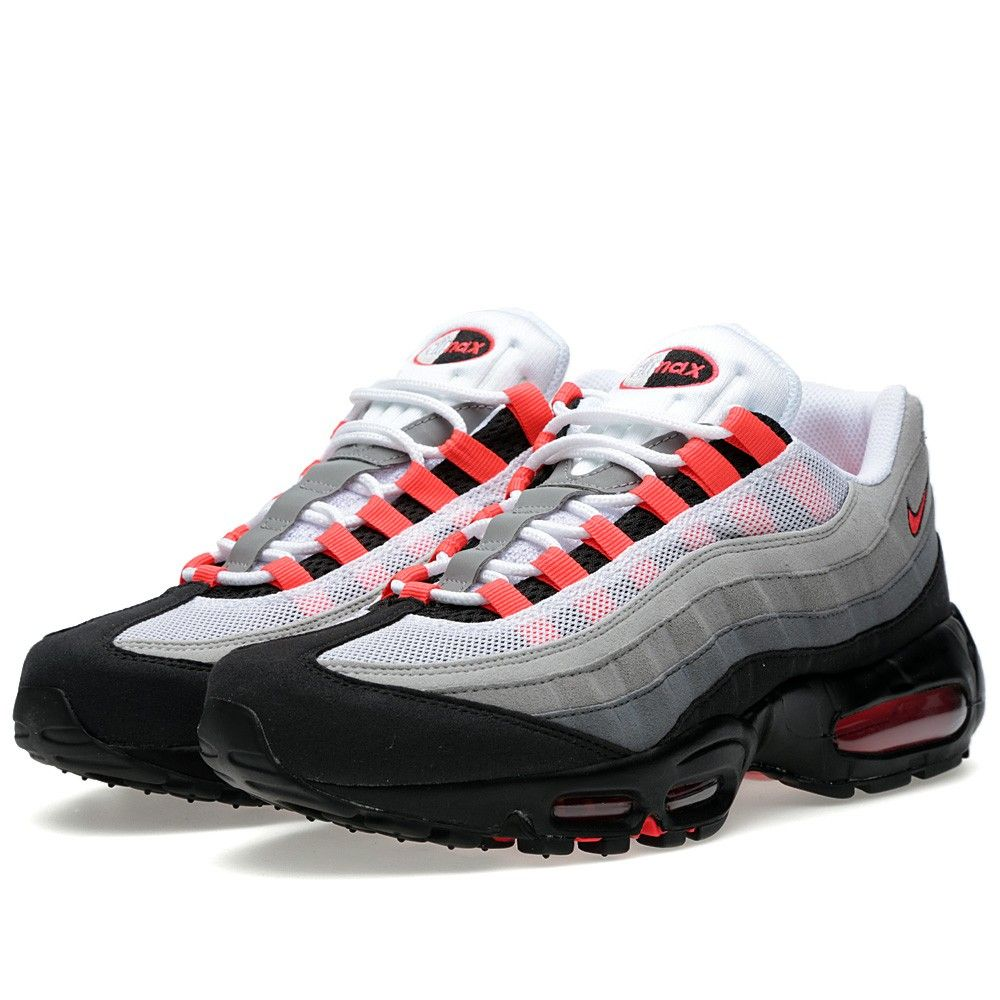 promo code 235bb b6524 Nike Air Max 95 (White   Solar Red)