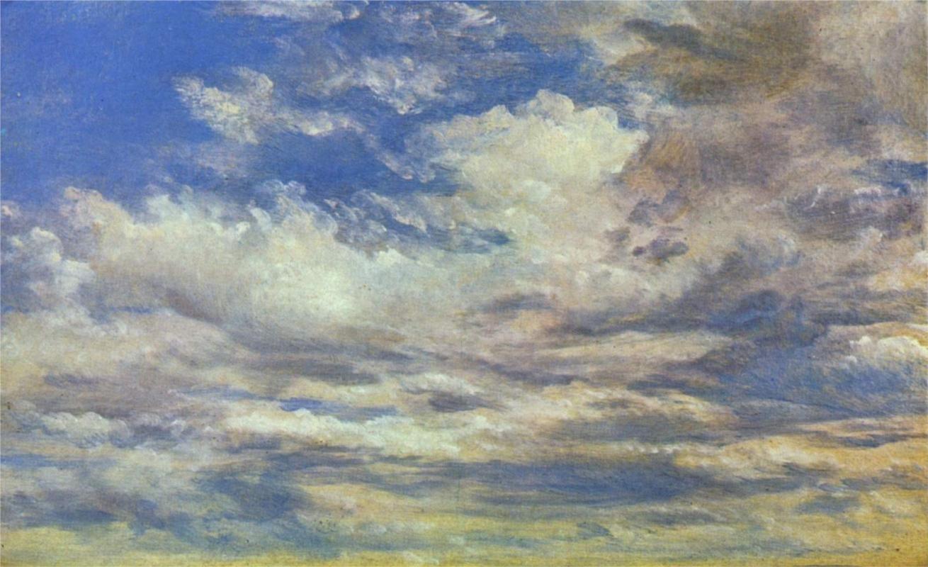 John Constable - Cloud Study, 1822