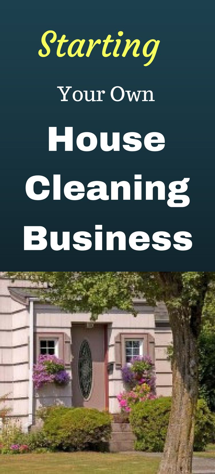 how to start my own house cleaning business
