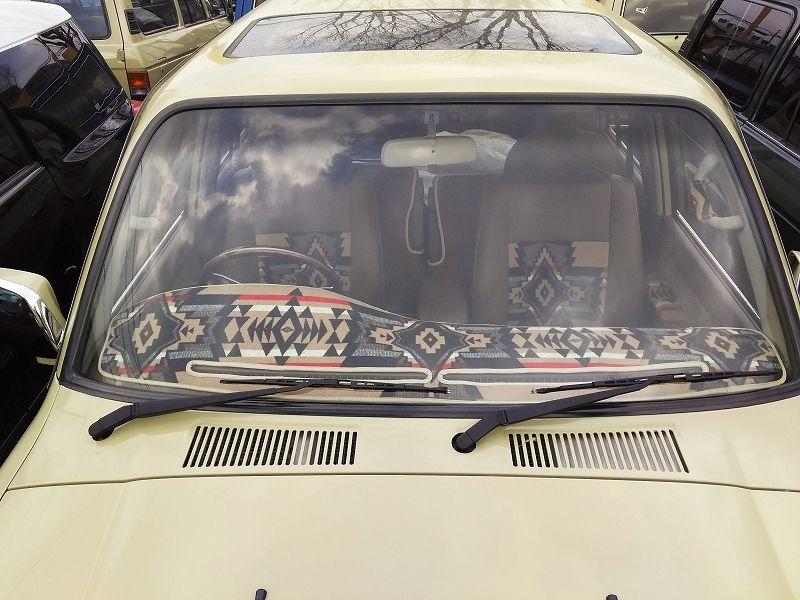 ランクル60 80用 ペンドルトンコラボダッシュボードマット フレックス ドリーム ランクル80 ランクル60 ランドクルーザー 70