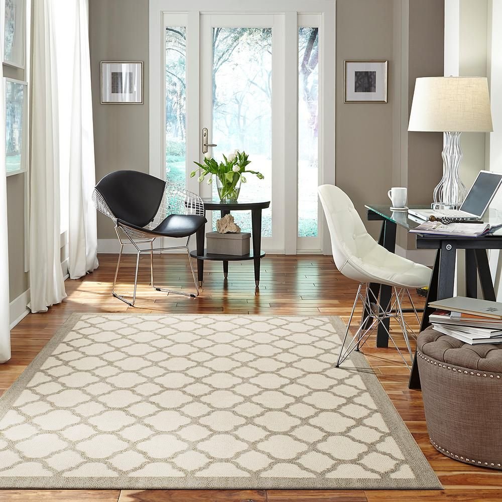 Mohawk home murphy grey area rug is perfect for cottage style decor