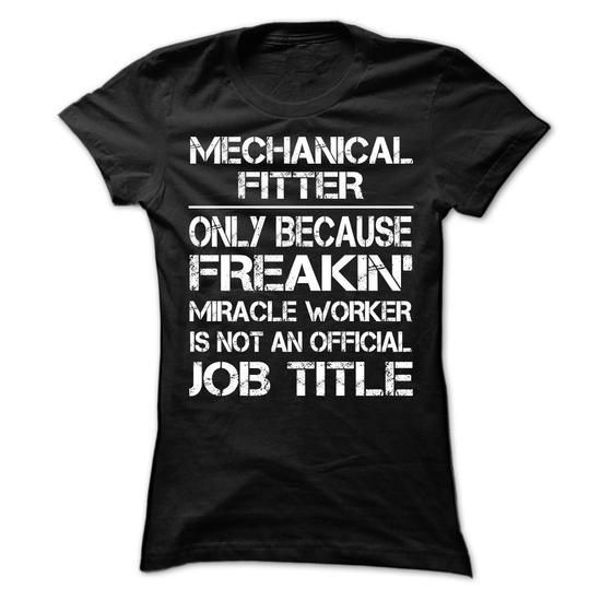 Mechanical Fitter - Must Have (New Design) T Shirts, Hoodies Sweatshirts. Check price ==► http://store.customtshirts.xyz/go.php?u=https://www.sunfrog.com/LifeStyle/Mechanical-Fitter--Must-Have-New-Design-Ladies.html?41382