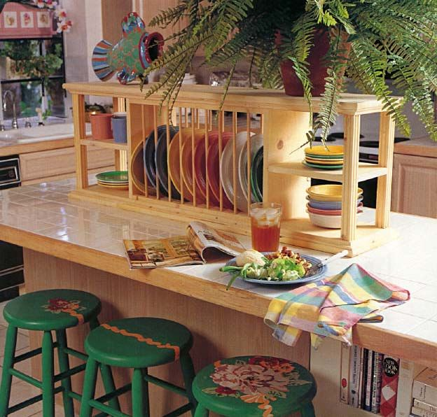 Plate Rack Plans | counter top rack kitchen topper furniture wood working plans for . & Plate Rack Plans | counter top rack kitchen topper furniture wood ...