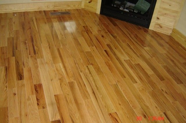 Finished red oak hardwood flooring solid wood flooring for Natural red oak floors