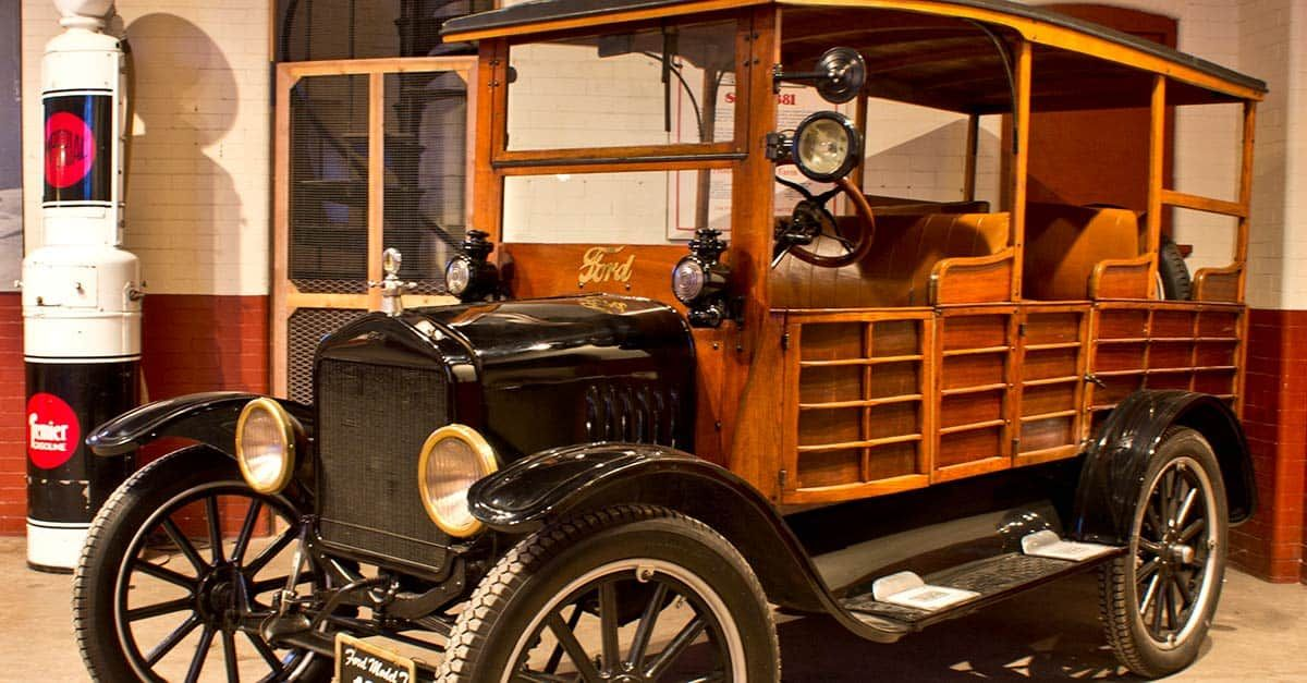 The Ford Model T Also Known As The Tin Lizzie Leaping Lena Or Flivver Model T Ford Models Ford