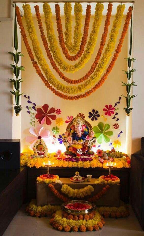 Simple Diwali Thali Decoration