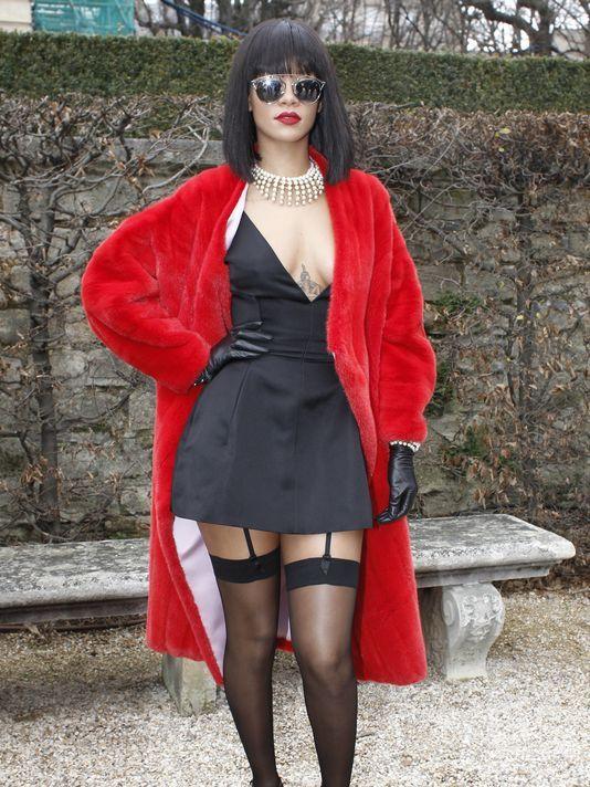 Are Rihanna see through paris sorry, that