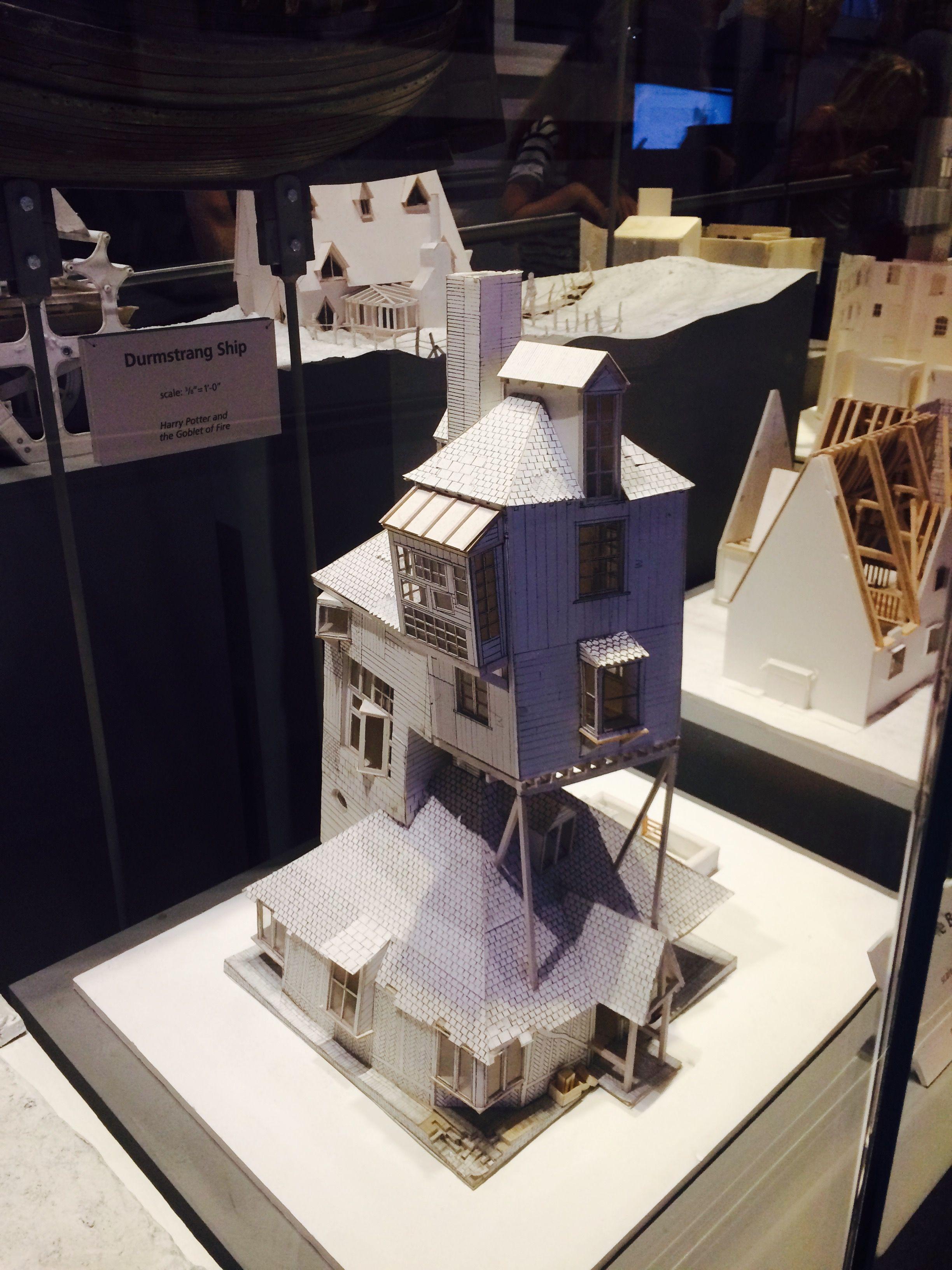 """Model of """"The Burrow"""" at Warner Bros. Studios. The burrow"""