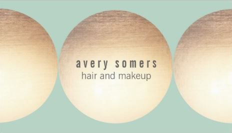 Makeup and hair stylist gold circle light turquoise business cards makeup and hair stylist gold circle light turquoise business cards http reheart Image collections