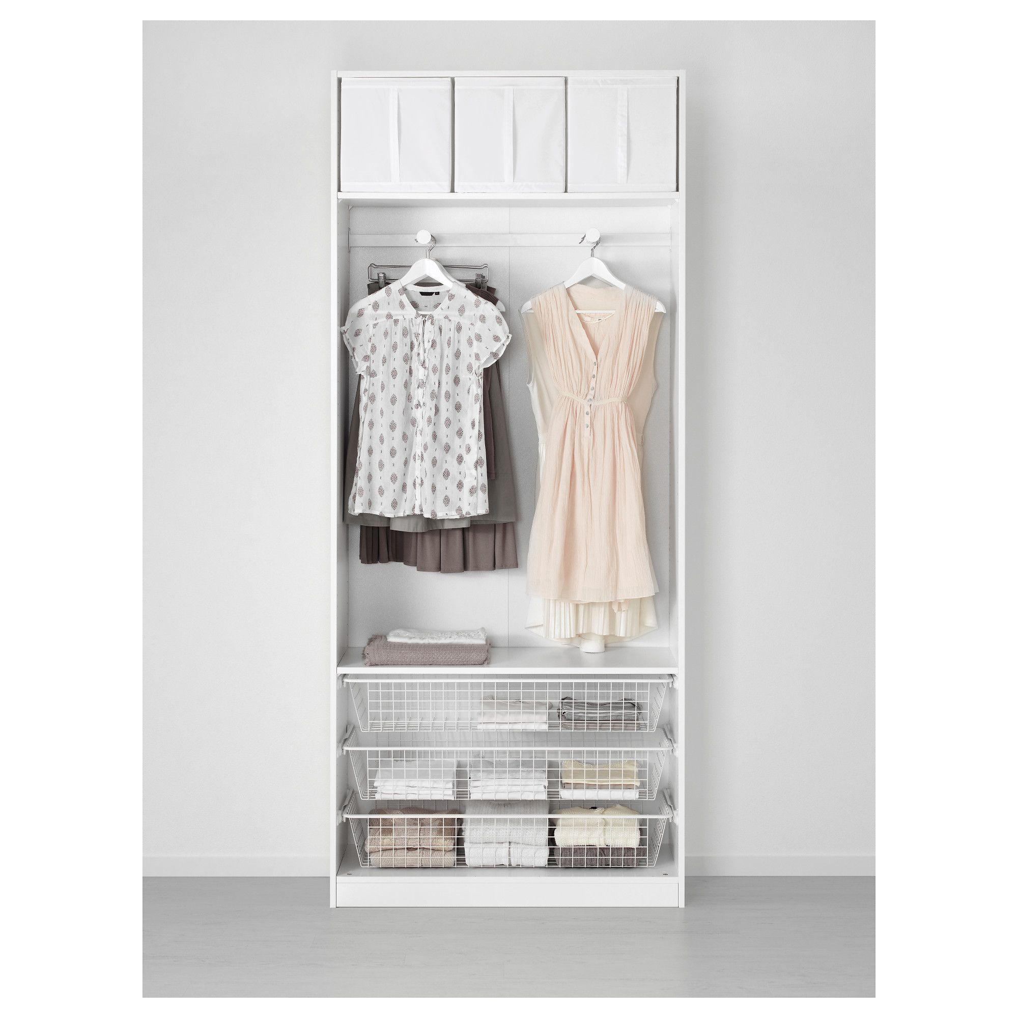 IKEA - PAX, Gardrób, 100x38x201 cm, hagyományos sarokpántok, , 10 ...