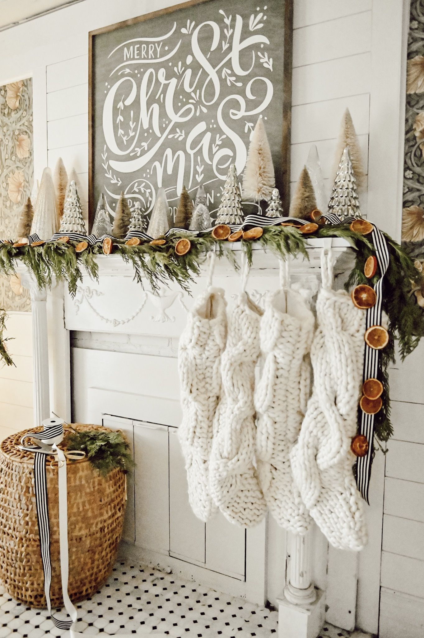 Photo of Cozy Christmas Mantel