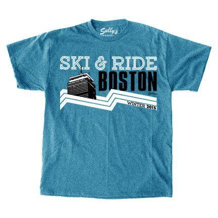 Boston Ski & Ride 2015 T-Shirt