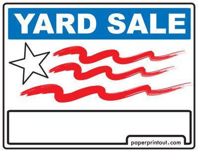 printable for sale sign for car