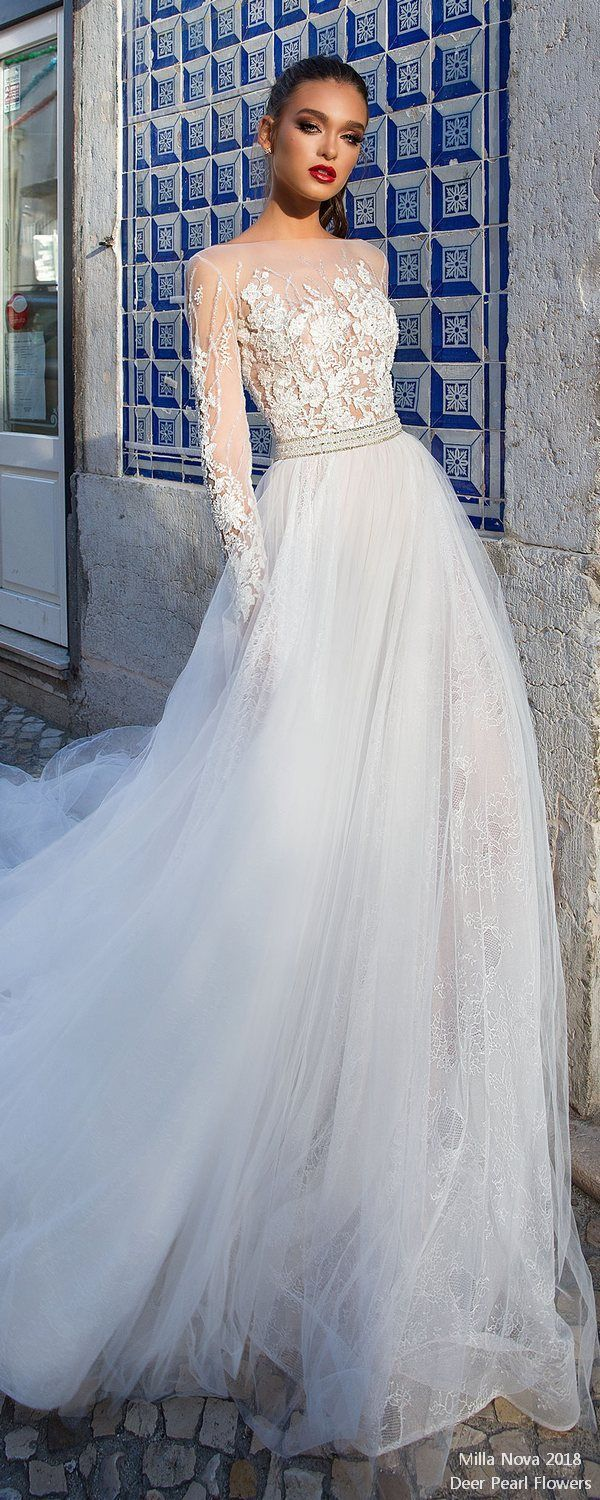 Top long sleeves wedding dresses for amazing wedding ideas