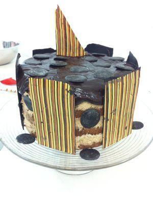 Bolo Chiffon com mousse de chocolate - Receitas