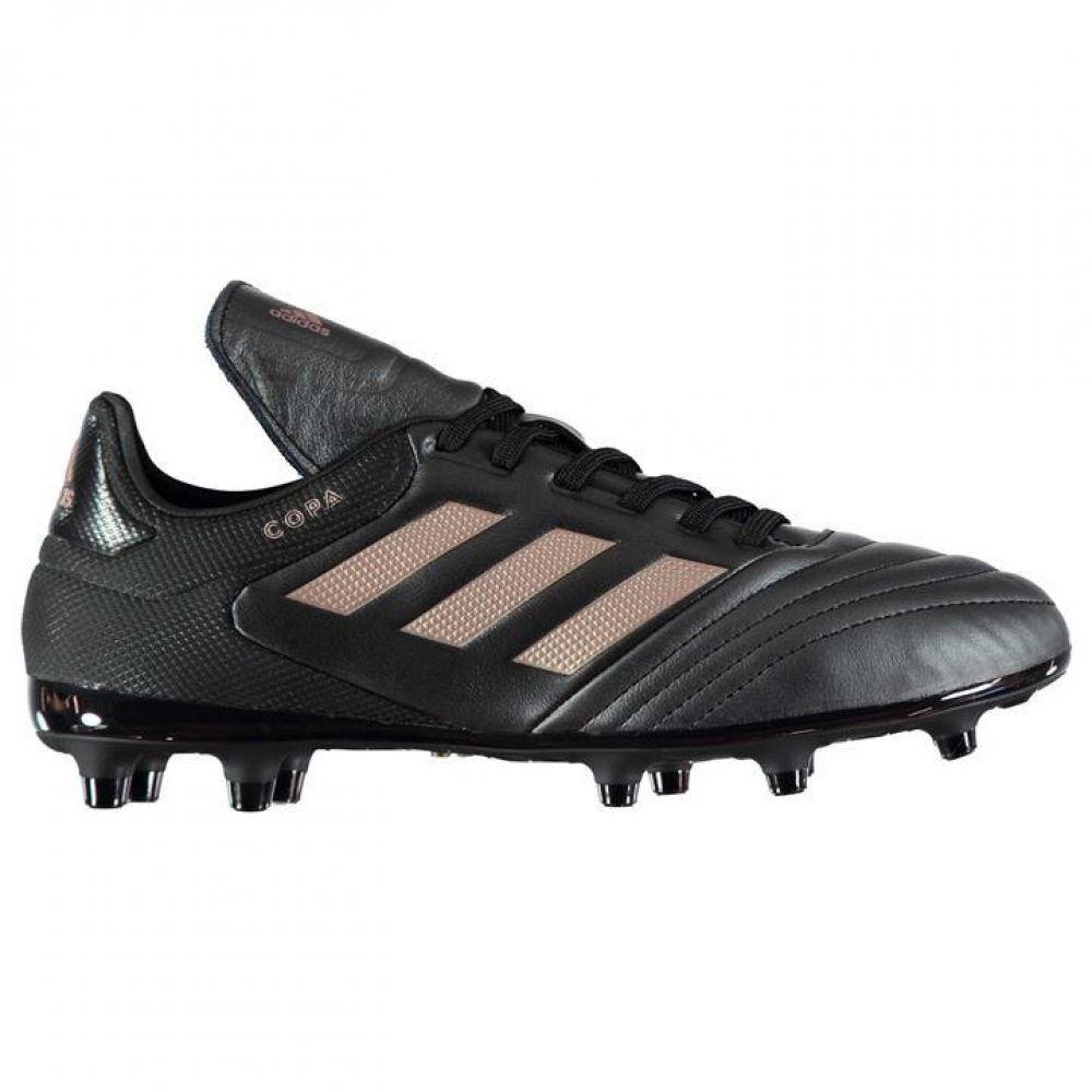 edc3924fd08c Adidas Copa 17.3 FG Mens Football Boots (Black-Copper Metal)  Sport ...