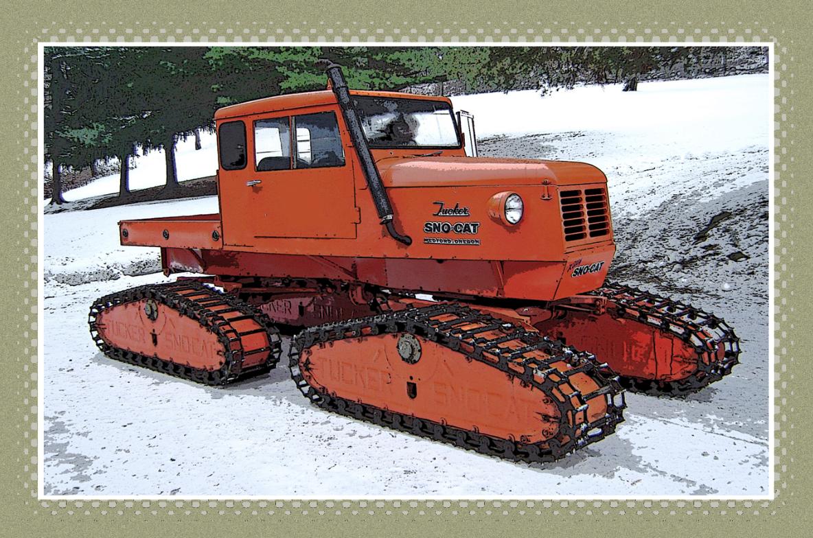 '69 Tucker SnoCat 442a. I want a snocat... Snow