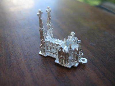 Vintage Silver New York City St Patrick's Cathedral Church Stanhope Charm M | eBay