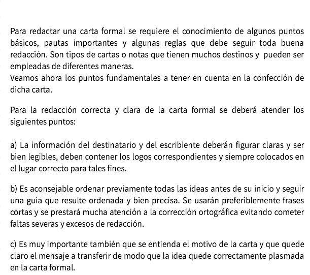 Carta Formal Carta Formal Escuela En Casa Y Formal