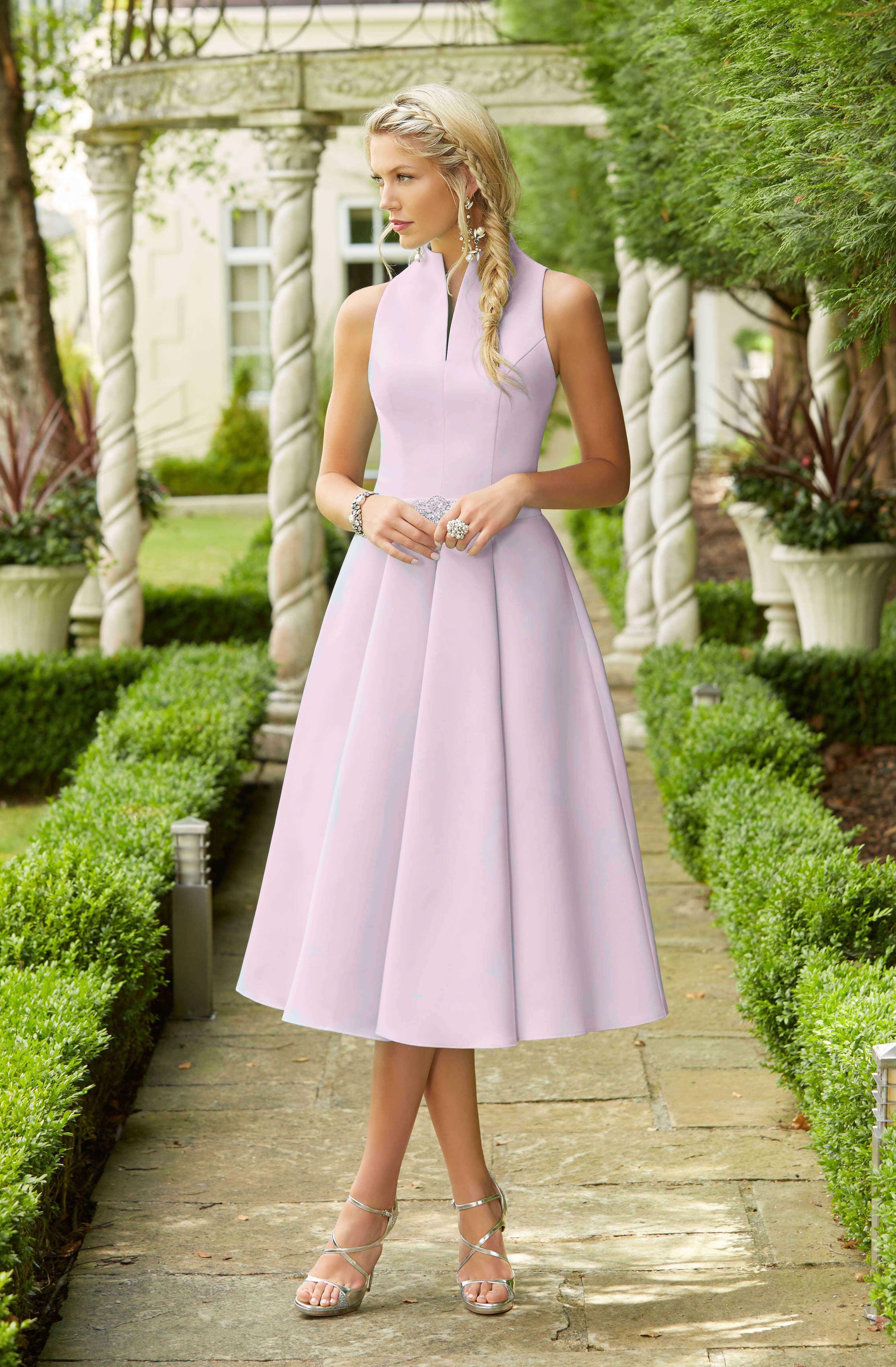 Ronald Joyce Full Skirted Knee Length Dress 70787 Catherines Of Partick Tea Length Dresses Tea Length Bridesmaid Dresses Bridesmaid Dresses [ 4800 x 3148 Pixel ]
