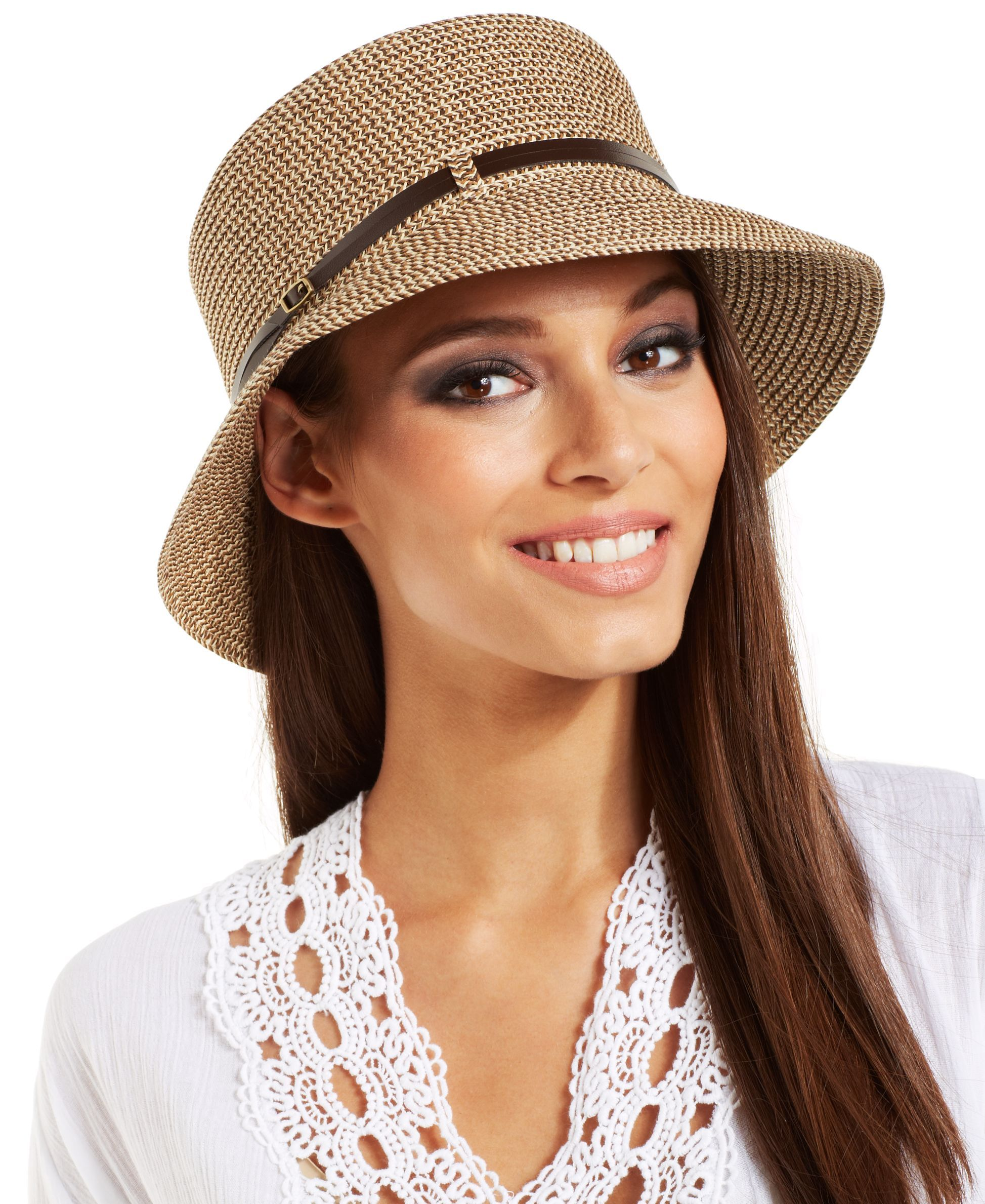 Nine West Packable Microbrim Hat  7acc3466bc61